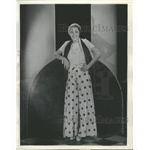 1931 Press Photo Rita LaRoy..screen player - RRT69709