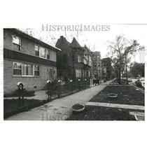 1978 Press Photo Community Scene Improve House