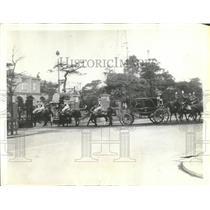 1936 Press Photo Emperor Hirihito in His Royal Carriage