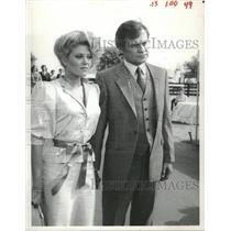 1984 Press Photo Audrey Landers Dallas