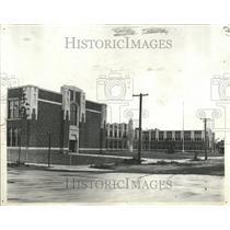 1931 Press Photo Post Intermediate School Midi Avenue