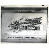 1960 Press Photo Chinatown Redevelopment Association - RRT26309