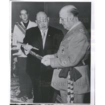 1963 Press Photo Generalissimo Franco of Spain - RRT64453