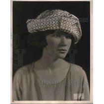 1921 Press Photo Hat Fashion from Joseph