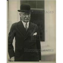 1923 Press Photo Paul Rica president of White Horse training school