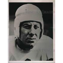 1936 Press Photo Ken Relvea, Tackle of the Colgate University Football Team.
