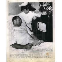 1945 Press Photo University Of Pennsylvania Head Coach George Munger
