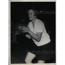 1929 Press Photo Hunter College Basketball Center Mildred Elliott ACME NEA