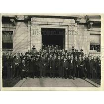 1919 Press Photo Group of Labor Leaders in Conference in Washington - nex04543