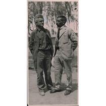 1925 Press Photo Louis Schloss, Liet. Col. Hypoline Baranco Mexico