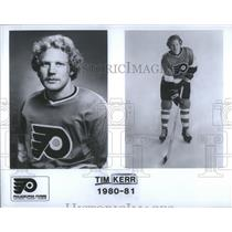 1980 Press Photo Tim Kerr Philadelphia Flyers Hockey - RRS85173