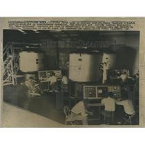1957 Press Photo atomic Reactors