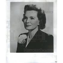 1958 Press Photo Bonnie Prudden Fitness