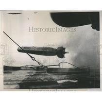 Press Photo Rocket Drop Sea Testing - RRS88495