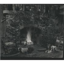 1941 Press Photo Boy Snax Duck Game Sprinels Wet Days - RRS23991