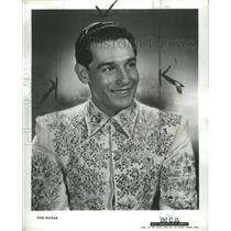 1946 Press Photo Federico Arturo Guízar Tolentino Actor - RRS34769