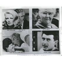 1969 Press Photo Gena Rowlands John Marley Anita White - RRS13189