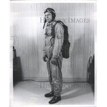 1964 Press Photo United Airlines Pilot - RRS24029