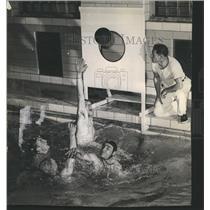 1945 Press Photo Northwestern University Water Target - RRS33411