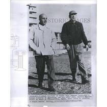 1960 Press Photo Peron Holidays in Spain Americo Barrio - RRS39635