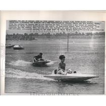 1965 Speed Boat Racing At Hansen Dam Press Photo - RRS04965
