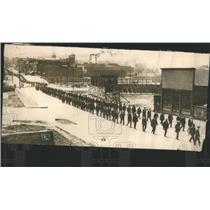 1914 Press Photo Government People Walk Road - RRS17281