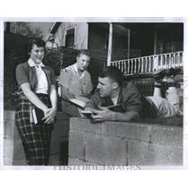 1955 Press Photo Home Maurer Mansion Tomd Peter - RRS15541