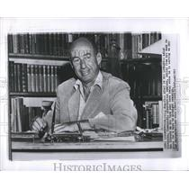 1965 Press Photo Library Adlai Stevenson Democratic - RRS15671