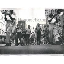 1968 Press Photo Wellington Marching Society Labor Day - RRS22727