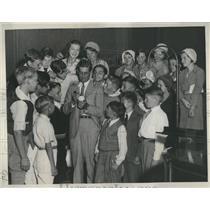 1932 Press Photo Bucky Harris Fair and Square Club - RRS99605