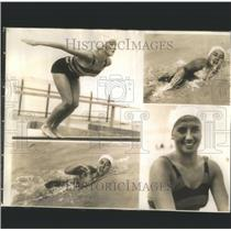 1935 Press Photo Miss Lenore Kight Swimmer - RRS77703