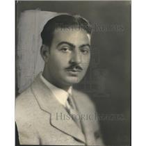 1930 Press Photo Eddie Bratton Radio Broadcaster. - RRS30139