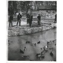 1934 Press Photo A bigger and Tetons Basing - RRS60679