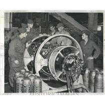 1952 Press Photo ROTC Air Cadets Jet William Fineberg - RRS24857