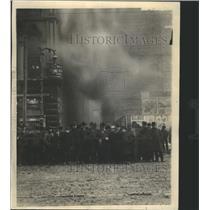 1934 Press Photo Fire Oxidative Chemical - RRS45081