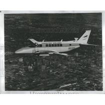 1968 Press Photo Commute Airlines Beechcraft Jet CH - RRS20001