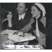 1950 Press Photo James Neville Mason Actor British - RRS34831
