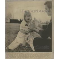 1971 Press Photo Highland Kim Pisut Thomas Karate - RRS40905