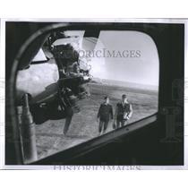 1954 Press Photo Larry Lasch Jim Flies Put Bay School - RRS11919