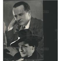 1923 Press Photo Brian Robert Morris,British Poet - RRS75227