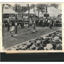 1933 Press Photo New England Woodcrope Wood - RRS75617