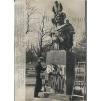 1945 Press Photo Midshipmen Naval Academy War Army - RRS34071