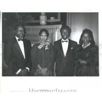 1988 Press Photo Zimbabwe Jonathon Wutawunashe Detroit