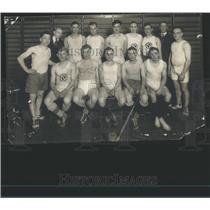 1921 Press Photo YMCA Bulldog Indoor Ball Sports Team - RRS81985