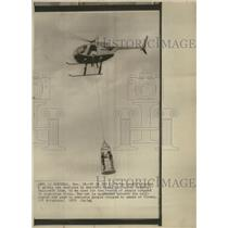 1975 Press Photo Rescue Montreal-based Hali copter Comp - RRS37451