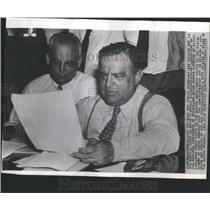 1939 Press Photo Strike President Land Coat Fiorello