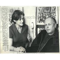 1975 Copy of 1973 Press Photo Physicist Andrei Sakharov - RRS84175