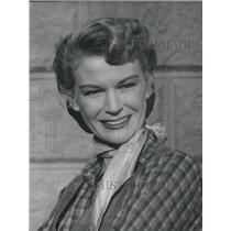 1953 Press Photo K. T. Stevens - RRS72513