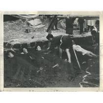 1937 Press Photo Japanese Hot Springs Sand - RRS75691