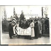 1934 Press Photo Anthem Peace Pough Faculty - RRS09817